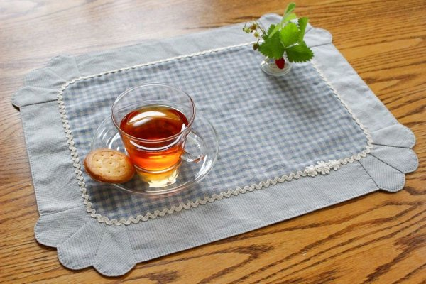 Photo1: Lunch Placemat (Set of 2) (1)